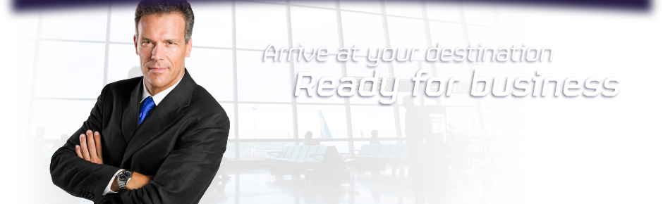 Arrive at your destination ready for business